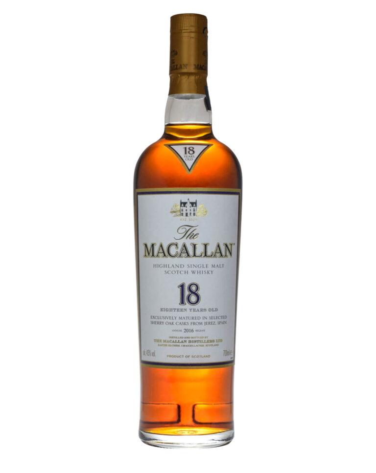 Macallan 18 Years Old Sherry Oak 2016 Musthave Malts MHM