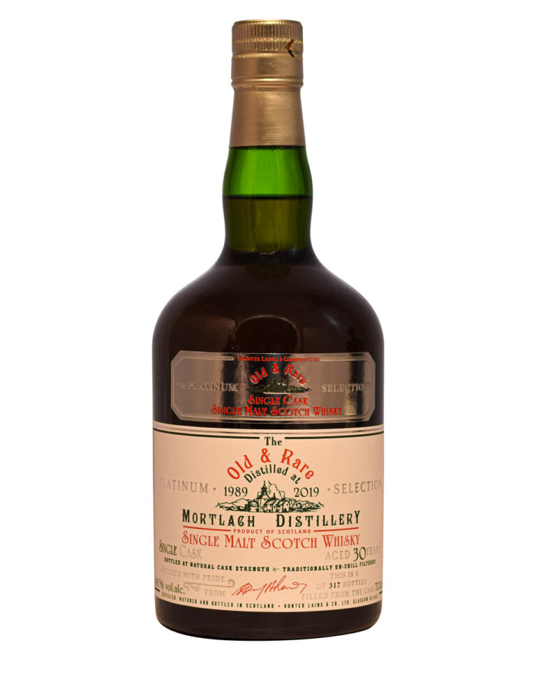 Mortlach 30 Years Old 1989 Old & Rare Hunter Laing Musthave Malts MHM