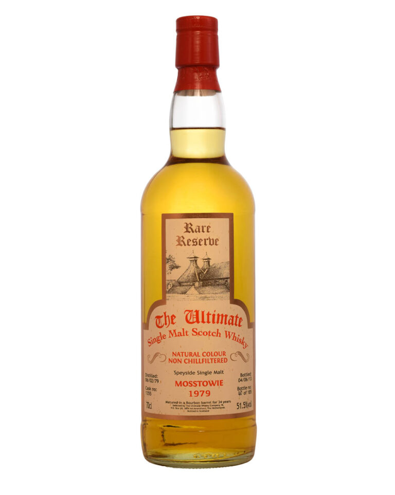 Mosstowie 1979 The Ultimate Rare Reserve (34 Years Old) Musthave Malts MHM
