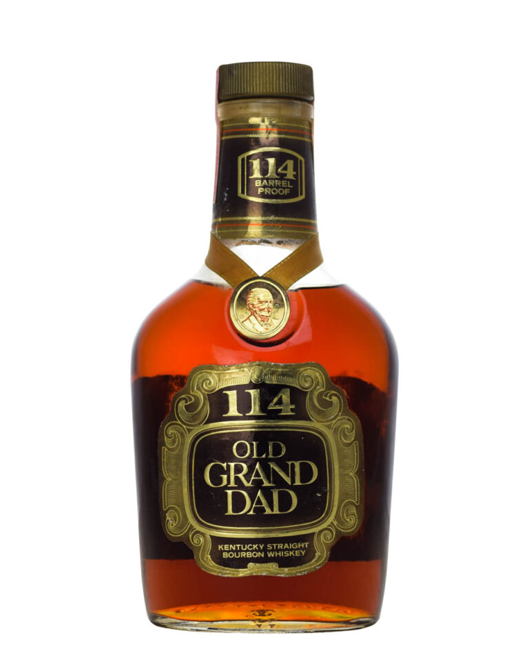 Old Grand-Dad 1970s 114 Barrel Proof Musthave Malts MHM