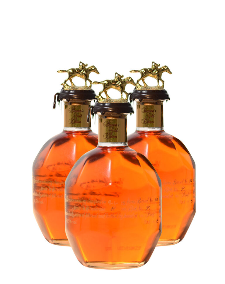 Set of 3 Blanton's Gold Edition Musthave Malts MHM