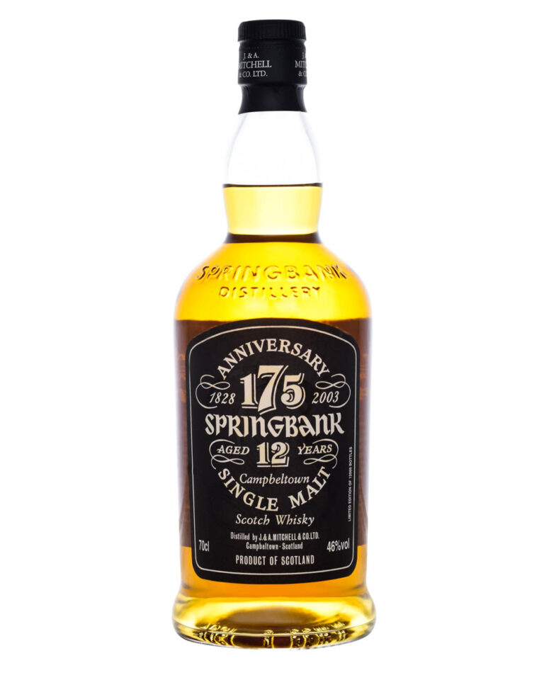 Springbank 12 Years Old 175 Anniversary Musthave Malts MHM