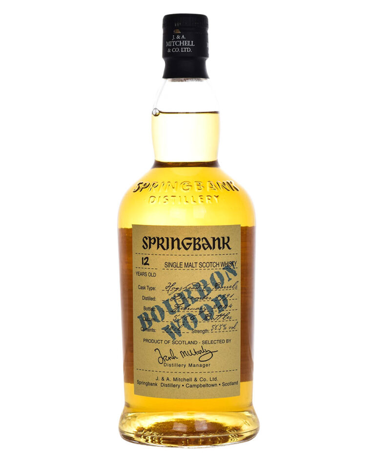 Springbank 12 Years Old 1991 Bourbon Wood Musthave Malts MHM