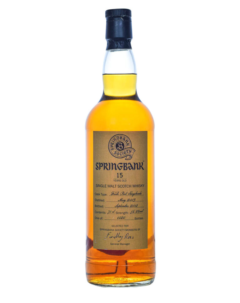 Springbank 15 Years Old Port Hogsheads 2003 Musthave Malts MHM