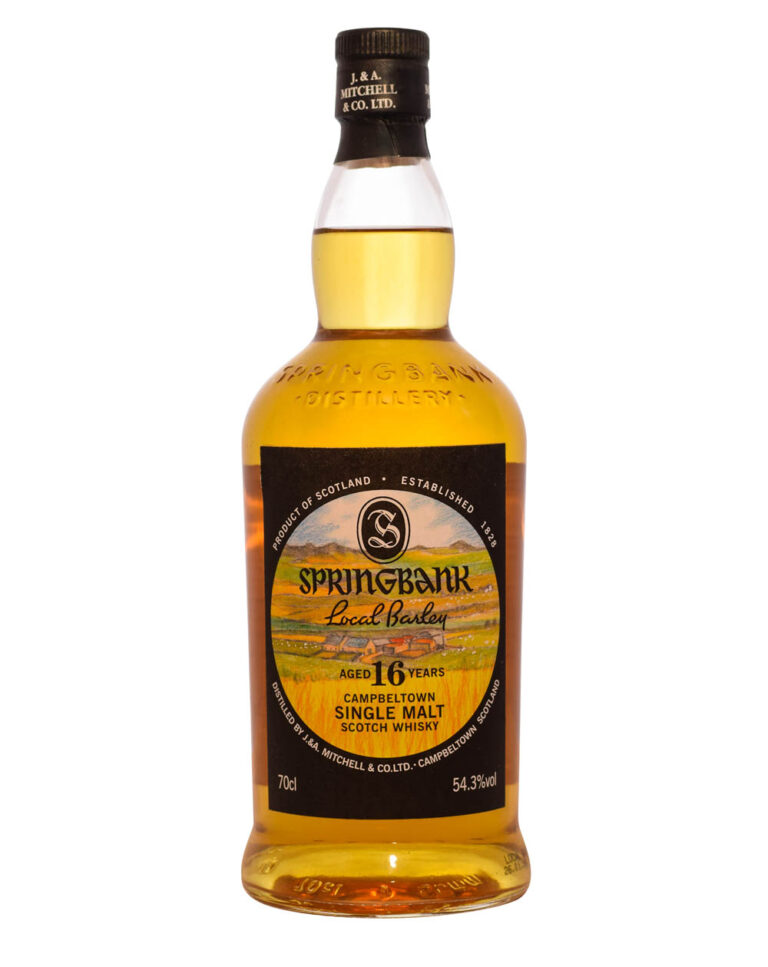 Springbank 16 Years Old Local Barley Musthave Malts MHM
