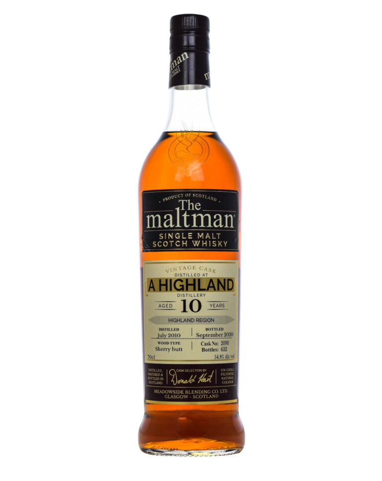 The Maltman 10 Years Old Highland Whisky 2010 Musthave Malts MHM