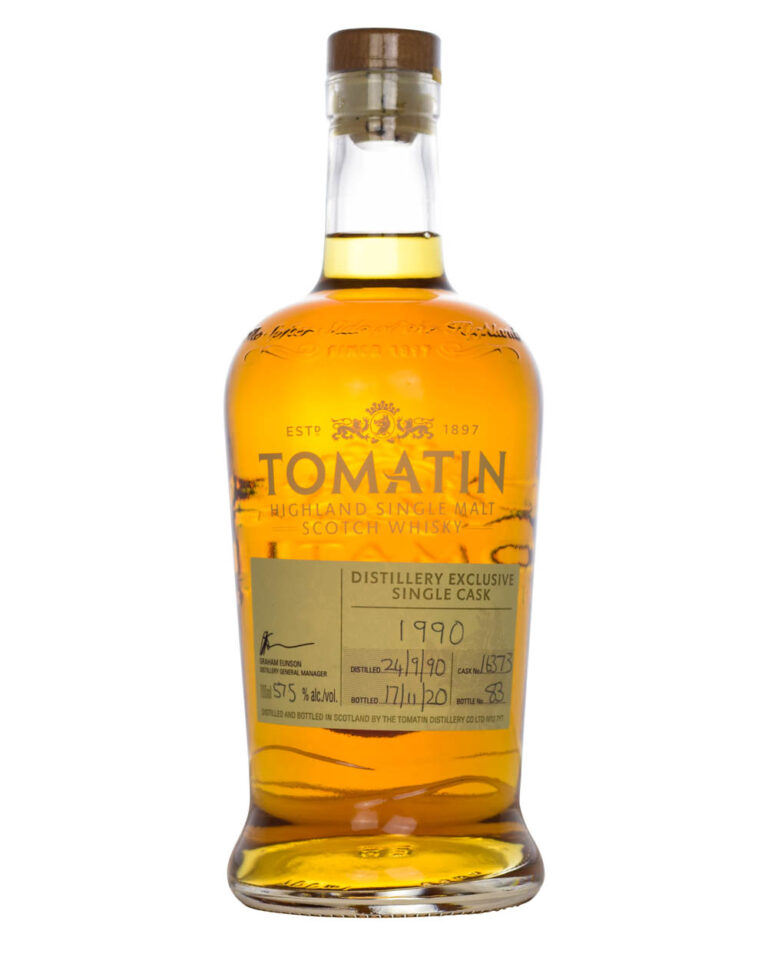 Tomatin 1990 Distillery Exclusive 30 Years Old Cask 16373 Musthave Malts MHM