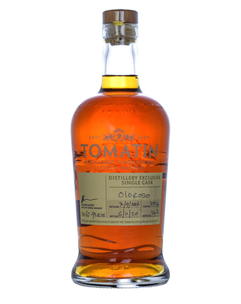 Tomatin 2007 Distillery Exclusive Oloroso Single Cask 3514 Musthave Malts MHM