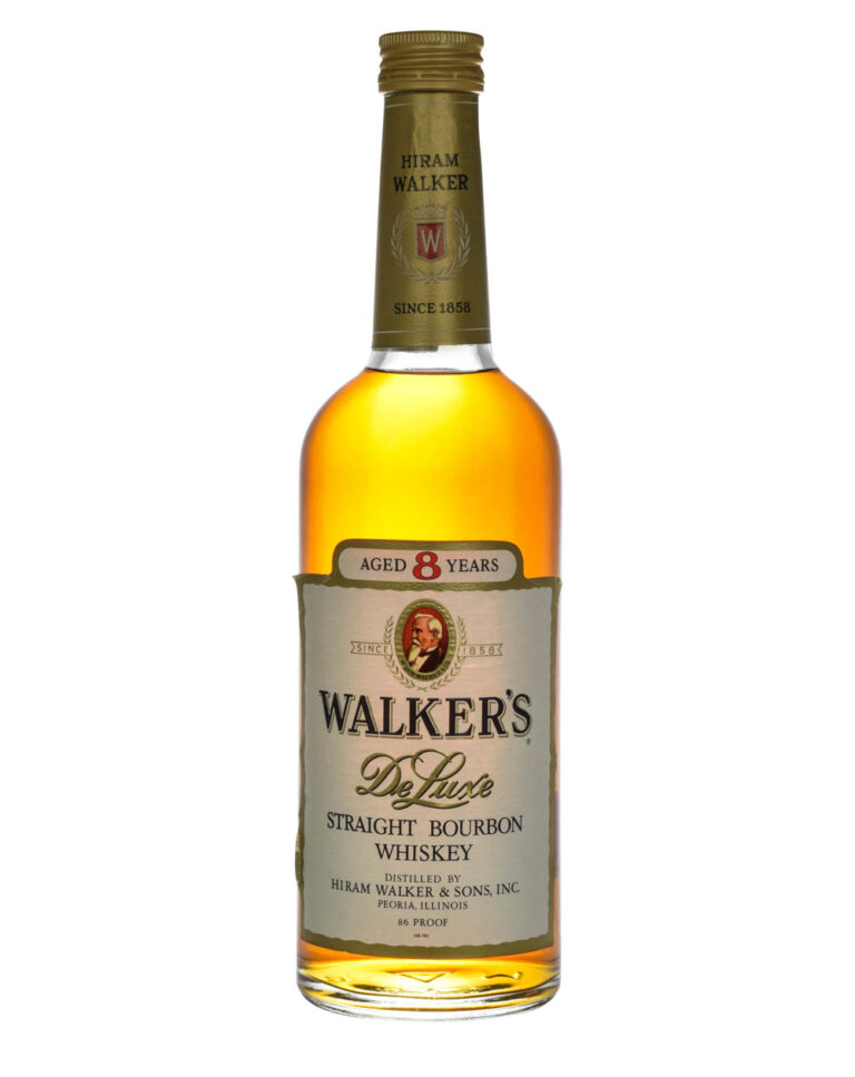 Walker's De Luxe 8 Years Old Straight Bourbon Whiskey Musthave Malts MHM