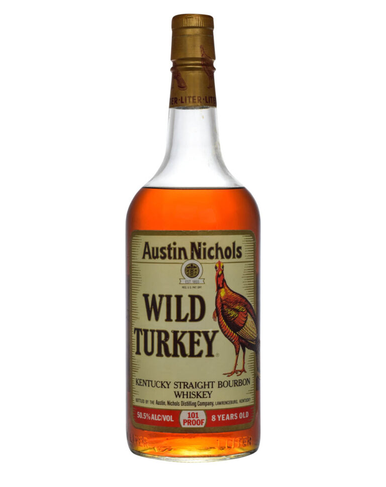 Wild Turkey 8 Years Old 101 Proof 1L 1990 Musthave Malts MHM