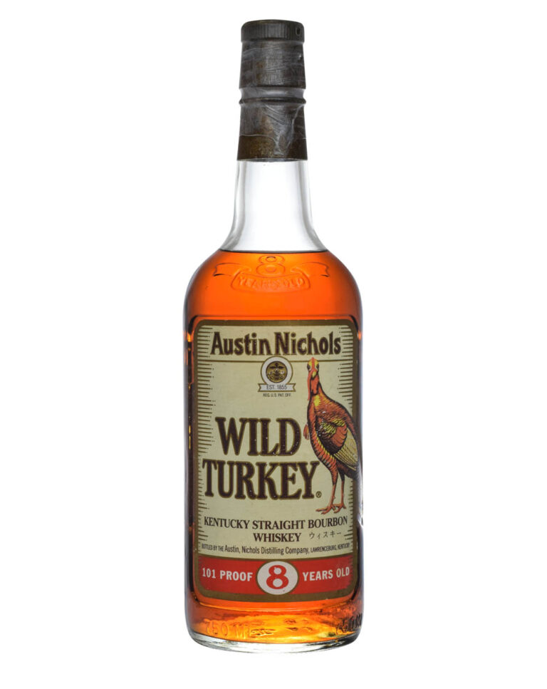 Wild Turkey 8 Years Old 101 Proof Beyond Duplication 1994 Japanese Export Musthave Malts MHM