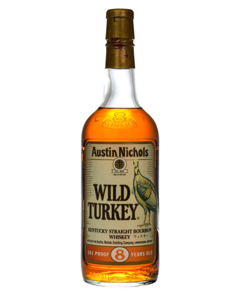 Wild Turkey 8 Years Old 101 Proof Beyond Duplication 1995 Japanese Export Musthave Malts MHM