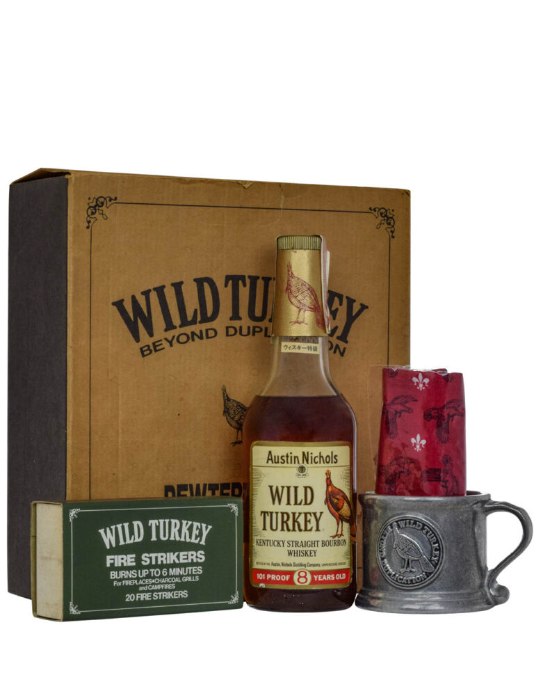 Wild Turkey 8 Years Old 101 Proof Match Box C Musthave Malts MHM